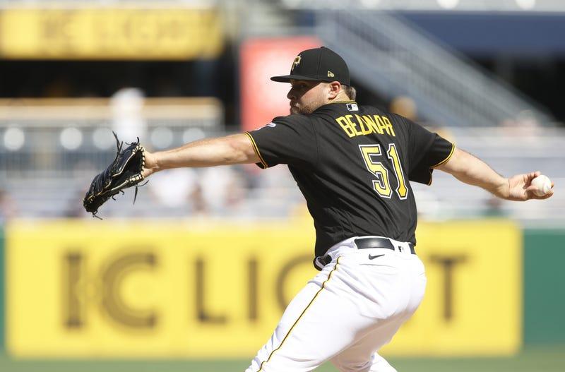 David Bednar pitching