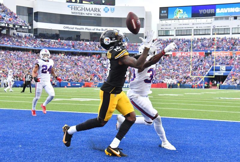 Diontae Johnson TD catch in Buffalo