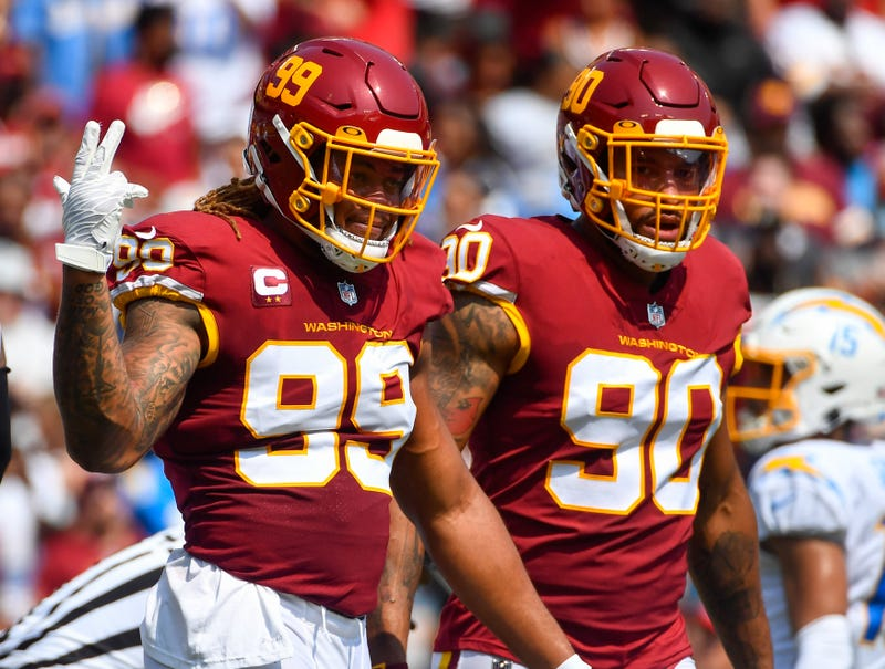 Chase Young and Montez Sweat