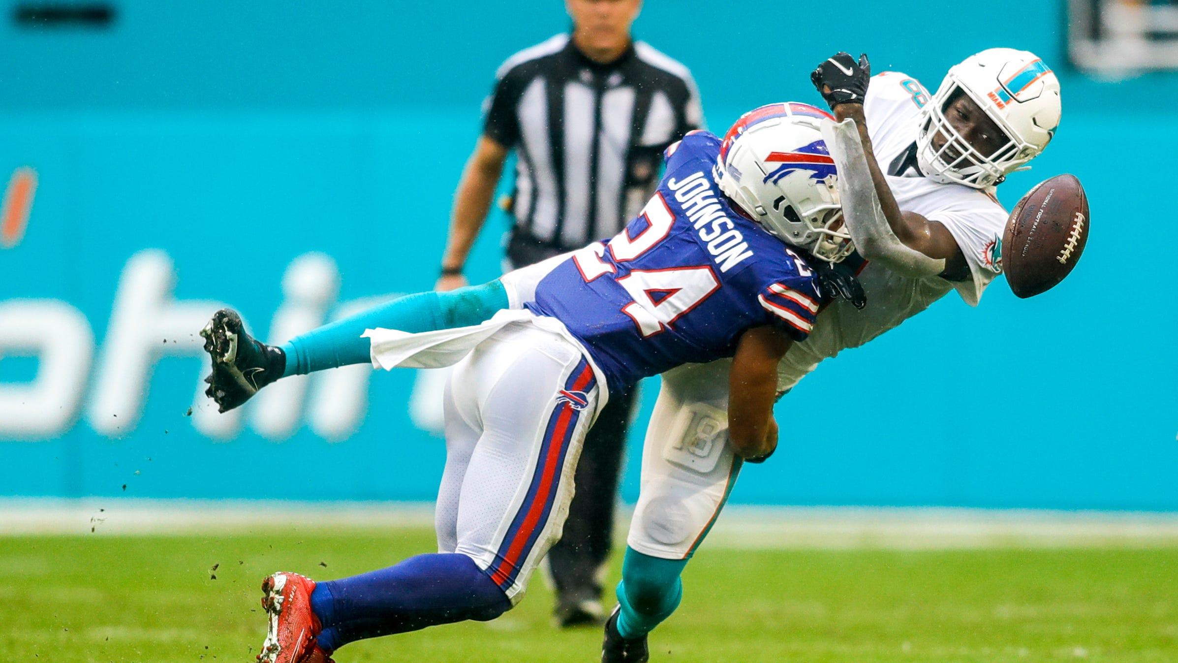 Taron Johnson shares key to Bills' success on defense
