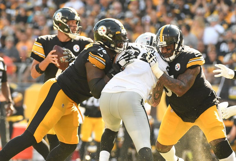 Steelers O-line protects Ben Roethlisberger