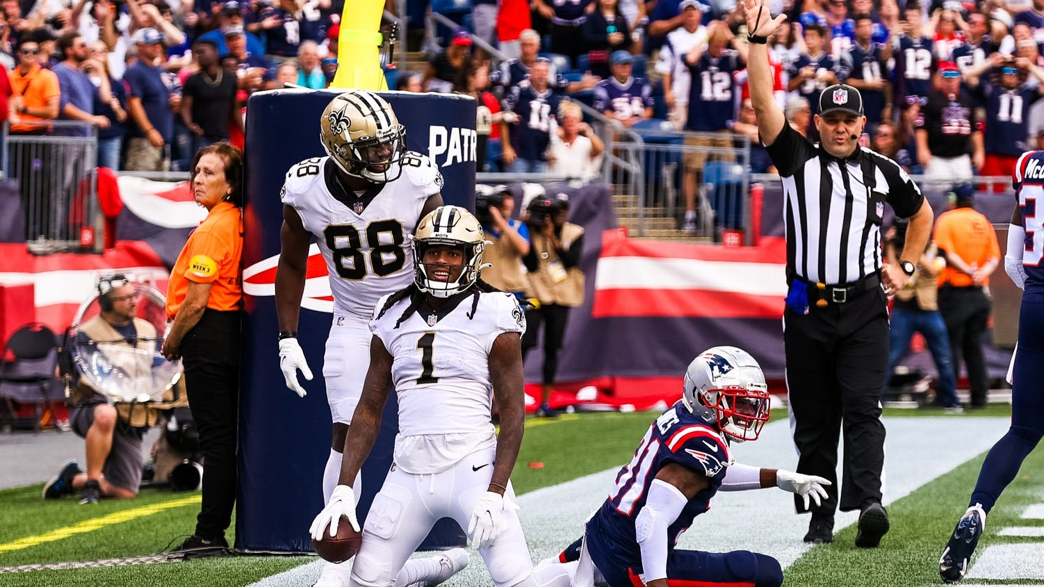 Saints' first priority: Beat the Patriots. Then it was 'we're going home!'