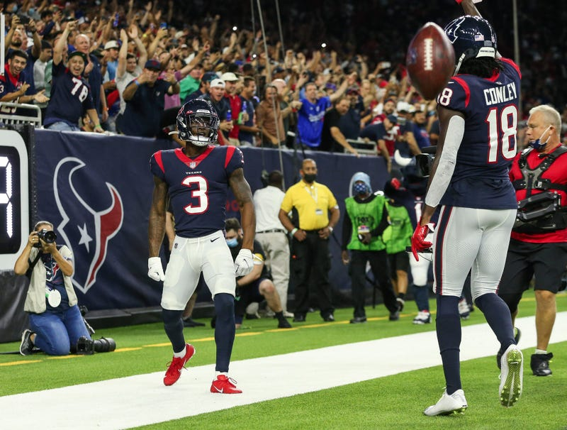 ; Houston Texans wide receiver Anthony Miller (3) during the second quarter