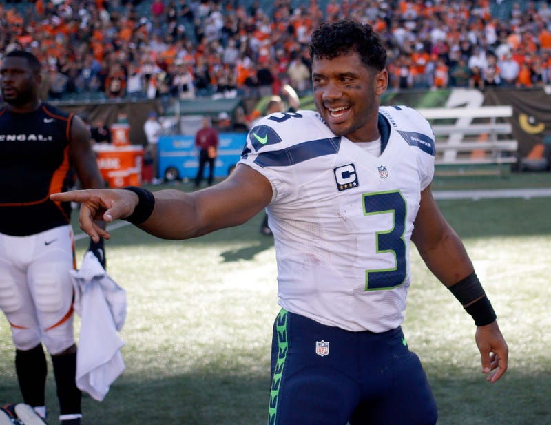 Russell Wilson is entering his eighth season as the Seahawks starting quarterback.