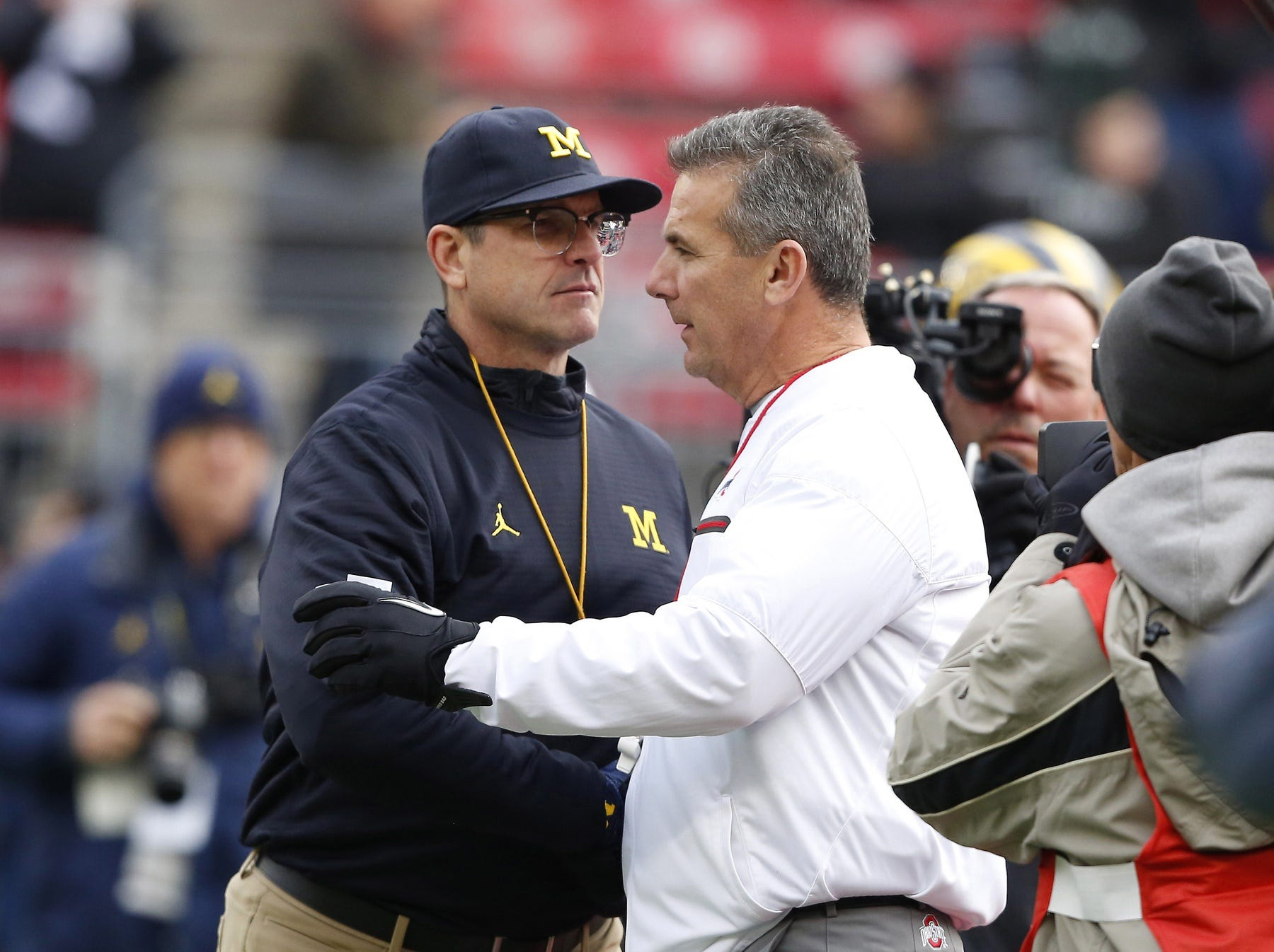 'Just pure talent,' Urban Meyer says Michigan not Ohio State's Big Ten challenger