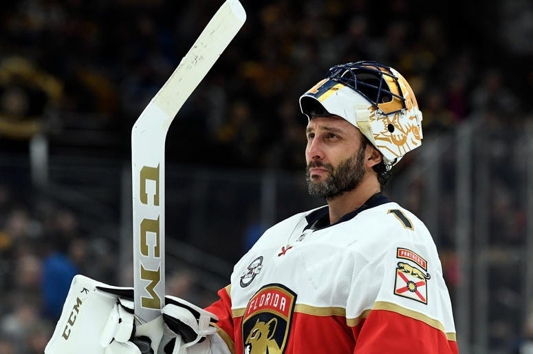 Nhl Star Roberto Luongo Sticks It To Bruins In Possible Last Boston