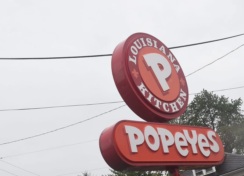 FILE - The York Popeyes located at 1045 Mt. Rose Avenue now has the new chicken sandwich, which has caused a viral rivalry between Popeyes and Chic-fil-A. Pmk 5686