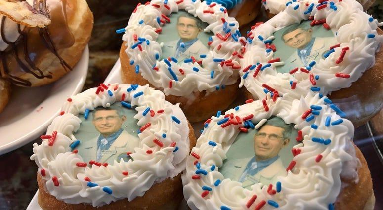 Fauci doughnuts
