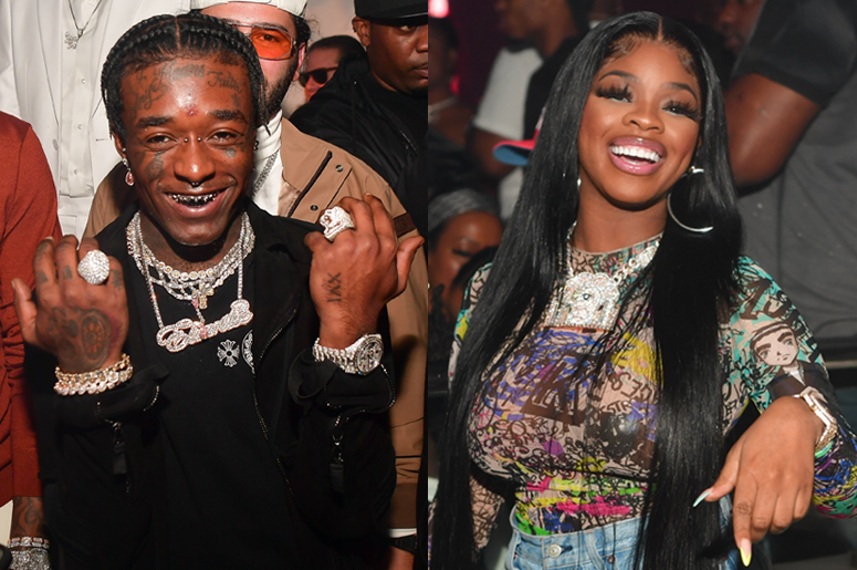 Lil Uzi Vert and JT from City Girls