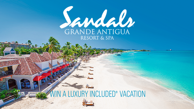 Sandals Grande Antigua Resort & Spa - Win A Luxury Included Vacation