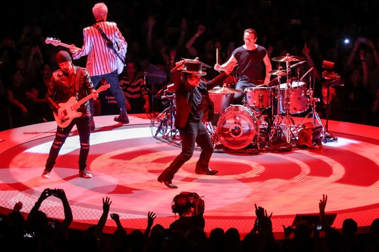 U2 Performs A Song Live For The First Time In 25 Years