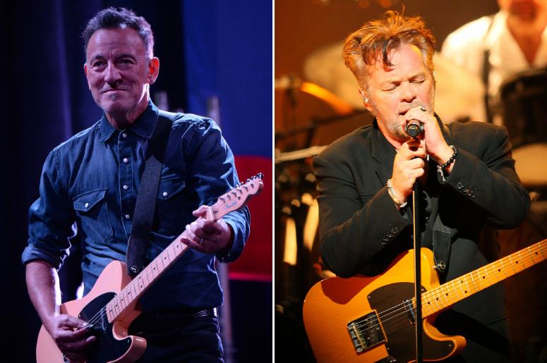 Bruce Springsteen and John Mellencamp