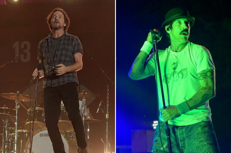 Eddie Vedder, Anthony Kiedis