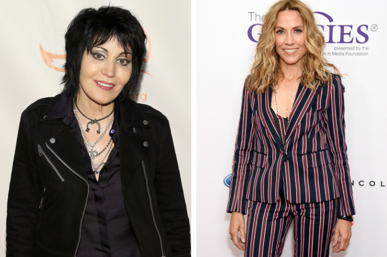 Joan Jett and Sheryl Crow are being honored at the 2019 Clio Music Awards
