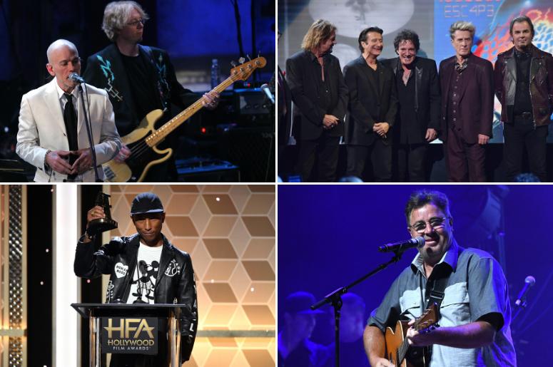 R.E.M., Journey, Vince Gill, Pharrell