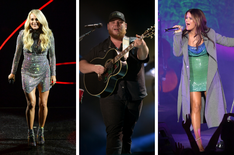 Carrie Underwood, Luke Combs, Maren Morris
