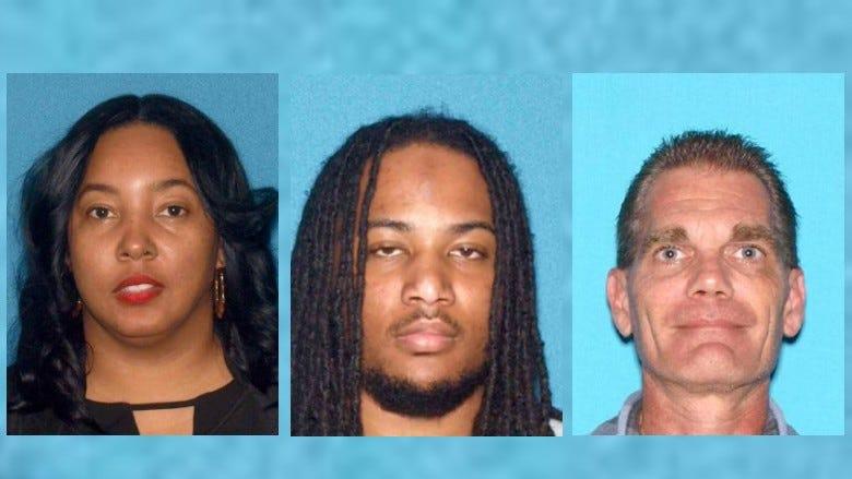 Tiffany Davis (L), Derrick Ross (C), Kurt Young (L)