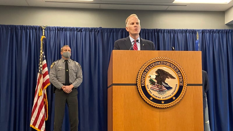 U.S. Attorney Bill McSwain announces indictment