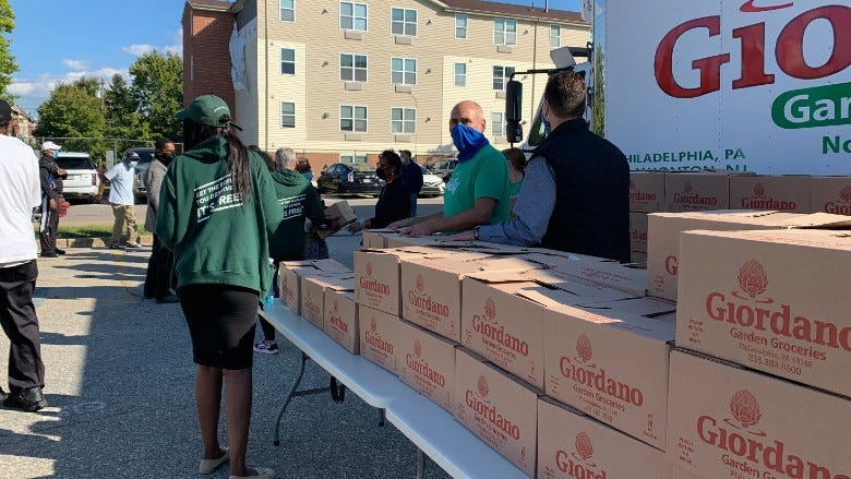 'We Are Philly' food boxes being donated