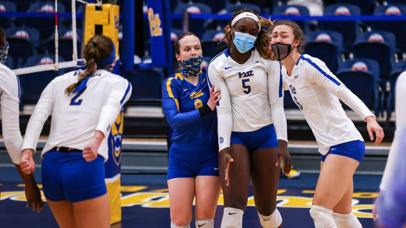 Pitt volleyball in 5th straight NCAA tournament