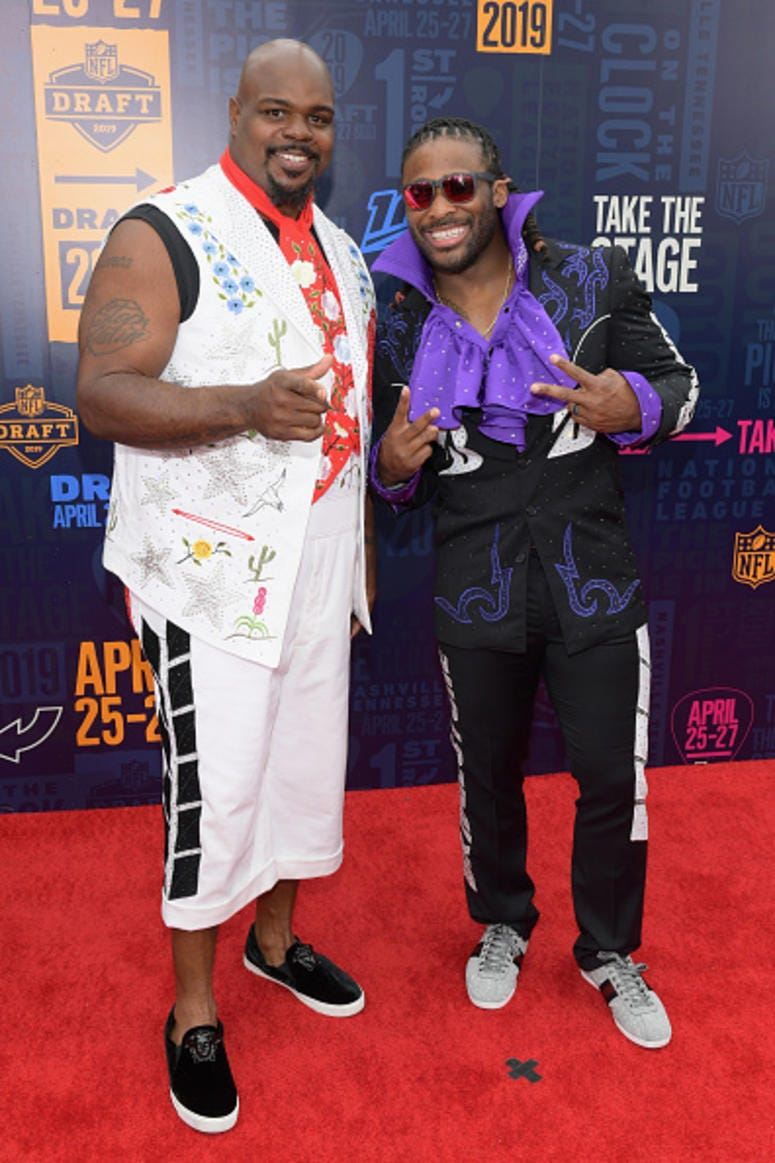 Vince Wilfork, DeAngelo Williams