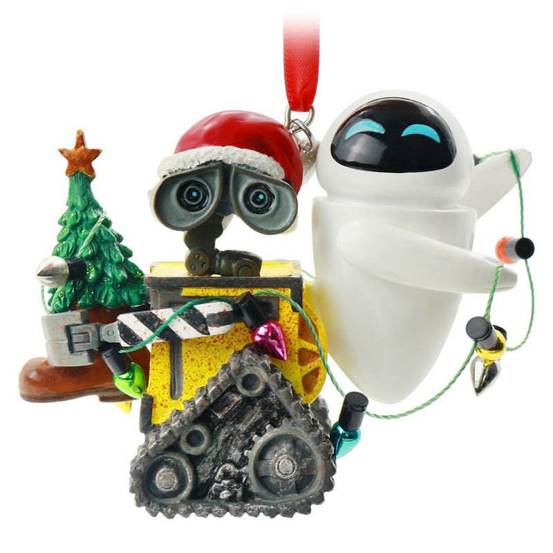 WALL•E and E.V.E. Sketchbook Ornament Disney 2020