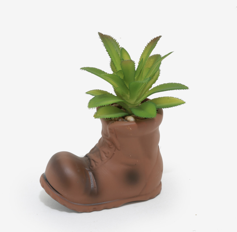 Disney Pixar WALL-E Boot Planter with Faux Succulent - BoxLunch Exclusive