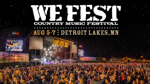 WE FEST Country Music Festival