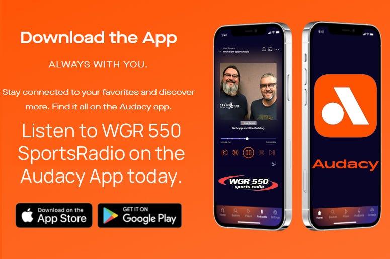 WGR 550 on the Audacy App!