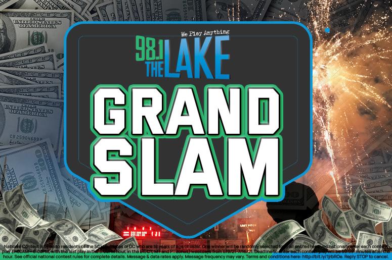 Grand Slam on 98.1 The Lake