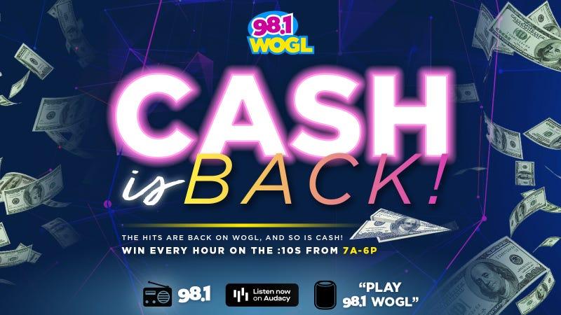 Cash is Back