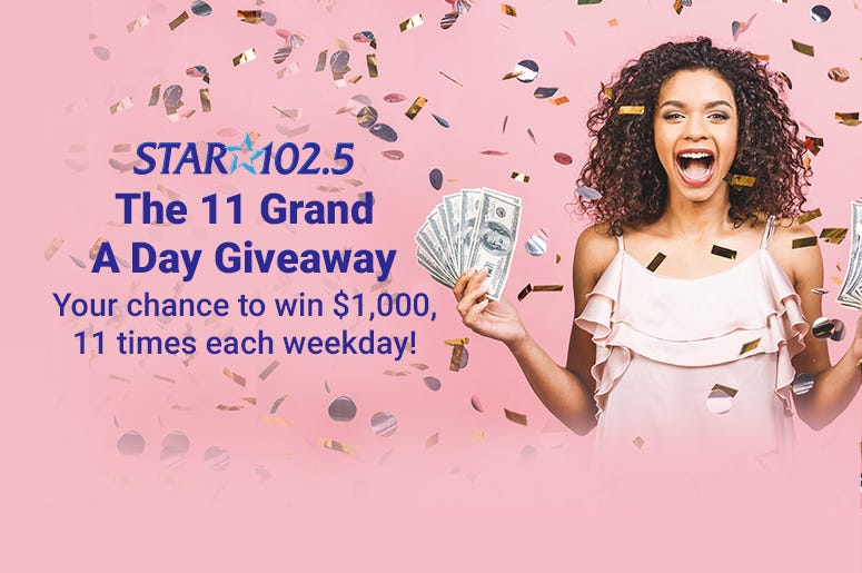 The 11 Grand A Day Giveaway