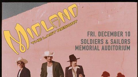 US101 Presents: Midland @ Soldiers & Sailors Memorial Auditorium!
