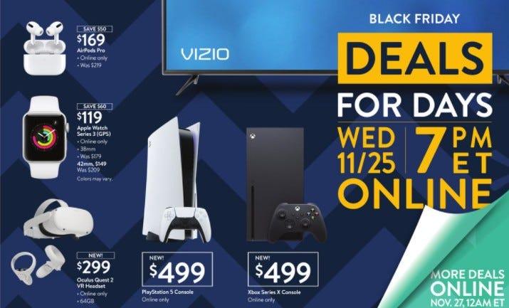 Walmart 2020 Black Friday deals revealed