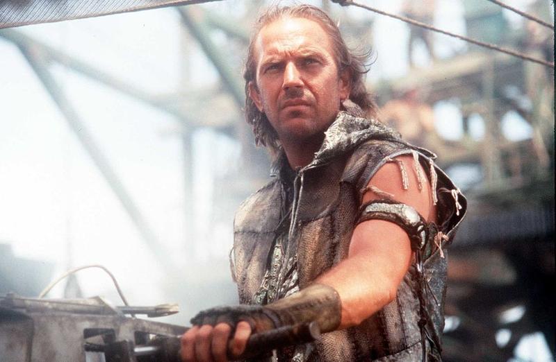 Kevin Costner in Waterworld