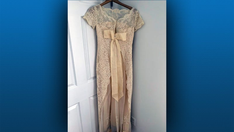Wedding dress found inside box after 24 years does not belong to the woman who found it