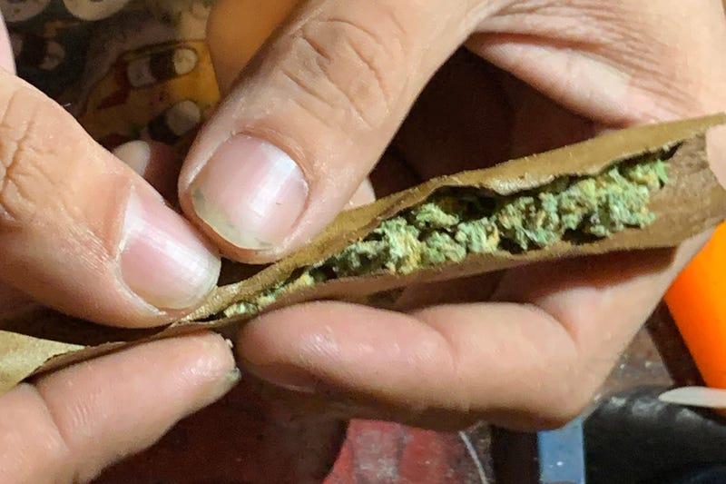 Marijuana blunt