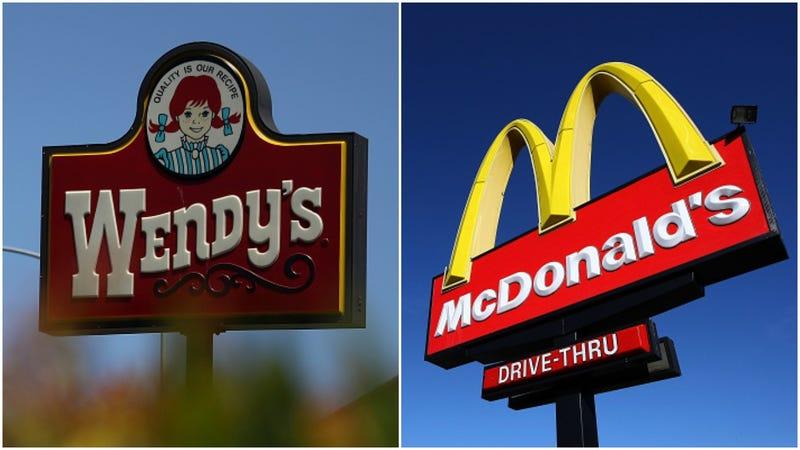 Wendy's, McDonald's