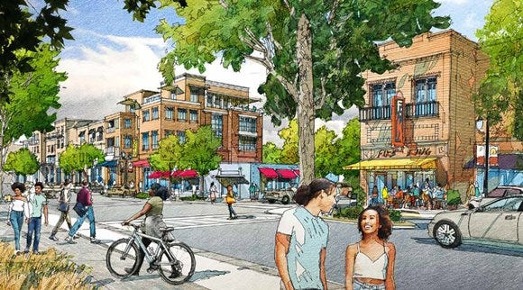 West End Small Area Plan illustration
