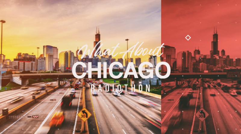 What About Chicago Radioathon logo