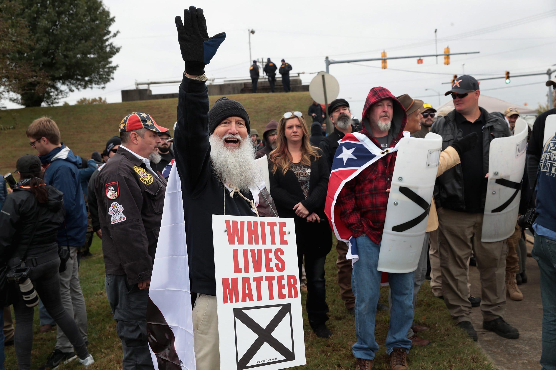 'White Lives Matter' banner found in Union City taken down