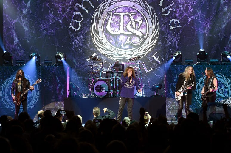Whitesnake Announces New Album, U.S. Tour For 2019