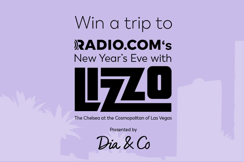 Win a trip to see Lizzo on New Year's Eve in Las Vegas