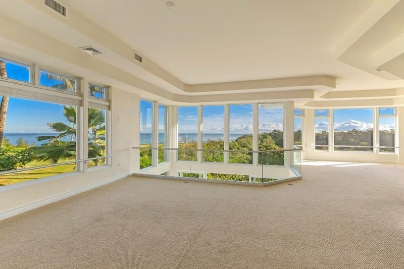 A view from an upstairs room in Brees' Hawaiian condo.
