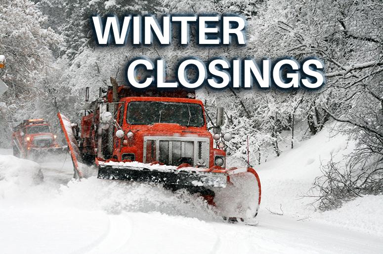 Winter Closings