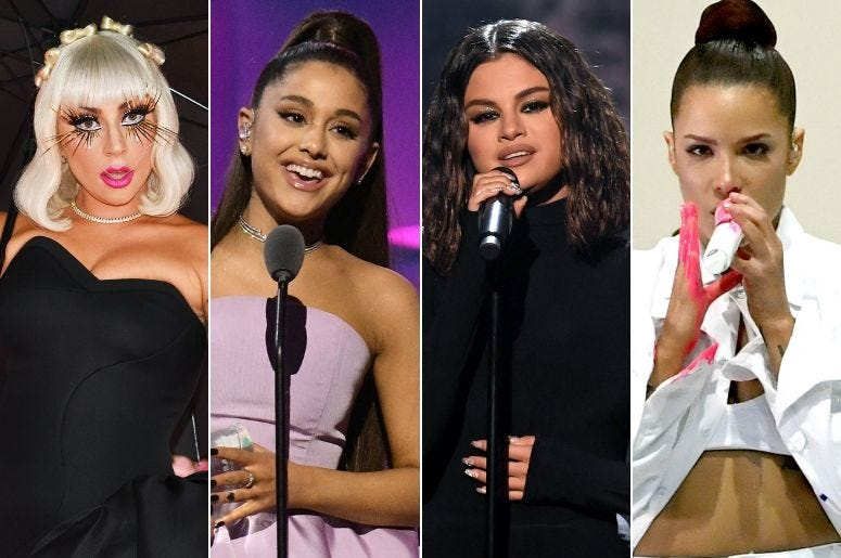Lady Gaga, Selena Gomez, and All the Women That Hit Number 1 in 2019