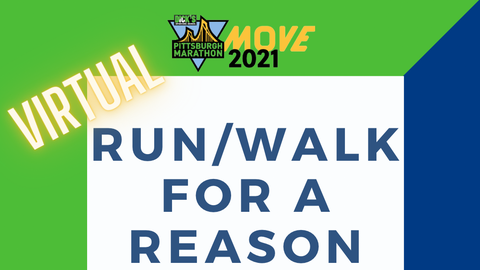 Virtual Run/Walk for a Reason
