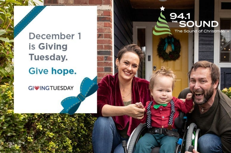 Giving Tuesday Give Hope