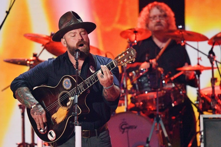Zac Brown of the Zac Brown Band performs at the 2019 CMT Music Awards