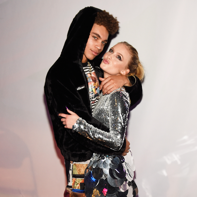Zara Larsson and Brian Whittaker